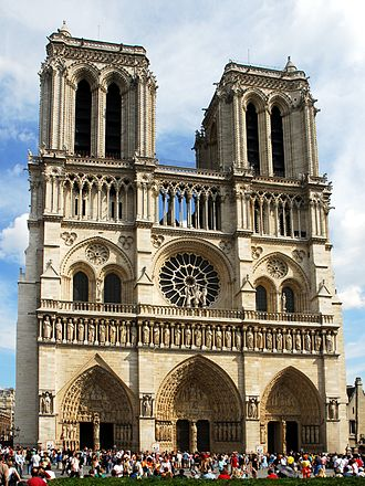 Christianity in the 13th century - Cathedral Notre Dame de Paris.
