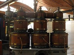 Willans & Robinson - High speed reciprocating steam engine