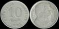 10 centavos - Peso Moneda Nacional - Argentina - 1951.png