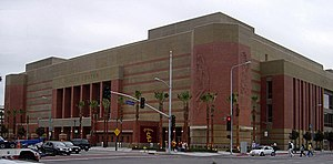 Jefferson Boulevard - USC  Trojans's  Galen Center at Jefferson Blvd. and Figueroa St.