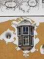 116 Can Negre, pl. Catalunya (Sant Joan Despí), finestra de la façana oest.jpg