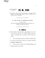 116th United States Congress H. R. 0000108 (1st session) - Targeting Rogue and Opaque Letters Act of 2019.pdf
