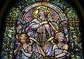 12 Rejoice and be Exceedingly Glad, Wigglesworth Memorial Window, 1922, Louis C. Tiffany, detail - Arlington Street Church - Boston, Massachusetts - DSC07012.jpg