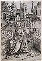 1475 Monogrammist Wah Die heilige Katharina lesend anagoria.JPG