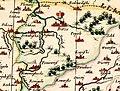 1613 map MAGNI DVCATVS LITHVANIAE Gerritsz Blaeu M.K. Radvila fragment.jpg