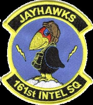 161st Intelligence Squadron - Emblem
