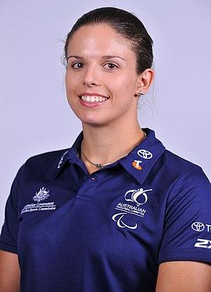 Clare Nott - 2012 Australian Paralympic Team portrait of Nott