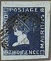 1859 2d Bandeau Mauritius Sherwin used Mi6 Yv7 SG40.jpg