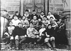 Thomas Hazzard - 1893 Kenyon College football team