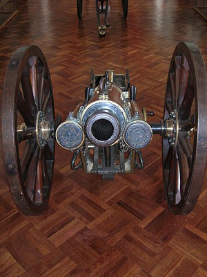 QF 2.95-inch Mountain Gun - At the Military Museum in Bogota, Colombia