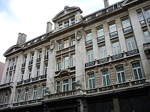 Hotel Astoria, Brussels - Hôtel Astoria, Brussels, in the year 2008.