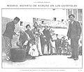 1909-04-07, Actualidades, Madrid, Reparto de rancho en los cuarteles, Alba.jpg