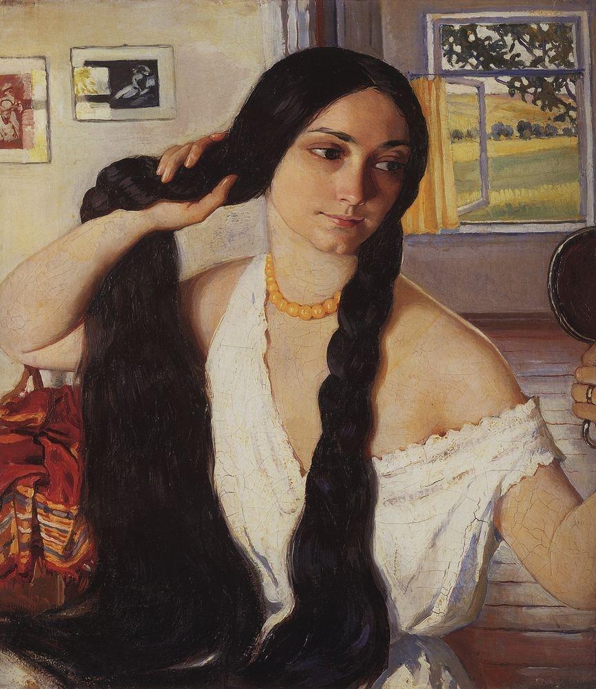 1910. Портрет Ольги Константиновны Лансере