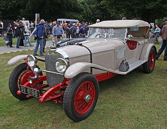 Mercedes-Benz S-Series - 1927 Model S