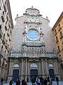 193 Basílica de Montserrat, façana de Francesc de Paula Villar.JPG