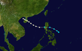 1948 Pacific typhoon 7 track.png