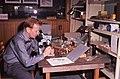 1961. Dave McComb checking collections. European pine shoot moth control. Bellevue, Washington. (36069375795).jpg
