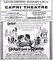 1963 - Capri Theater Opening Ad - 7 Aug MC - Allentown PA.jpg
