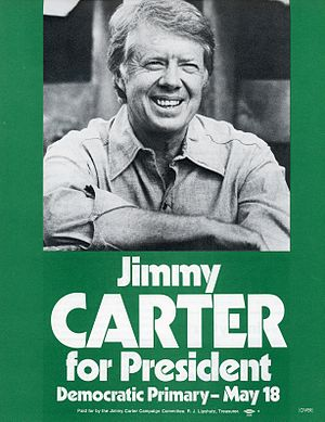 Jimmy Carter - Campaign flyer from Democratic Party presidential primary