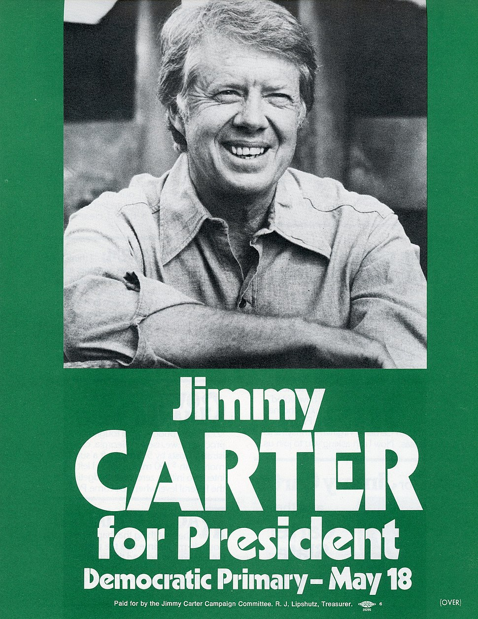 1976 Presidential campaign flyer