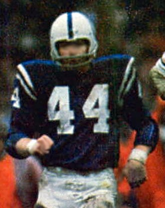 Rex Kern - Kern playing for the Colts in 1971