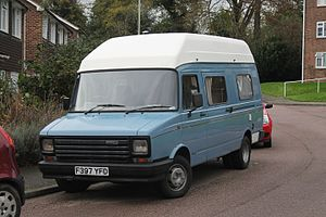 Freight Rover - Image: 1988 Freight Rover Sherpa 350 (15619068397)
