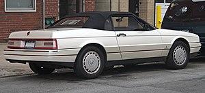 Cadillac Allanté - 1991 Cadillac Allanté (rear view)