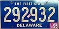 1995 Delaware license plate - 292932.jpg