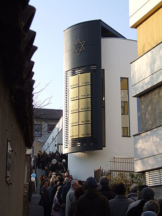 History of the Jews in Speyer - New synagogue Beith Shalom
