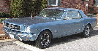 Pony car - Ford Mustang (1965–1966)
