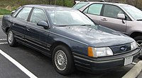 1st Ford Taurus GL sedan.jpg