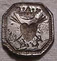 2005 T491, silver mount or seal die from 'East of Colchester', Essex (FindID 216037).jpg