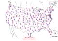 2006-06-04 Max-min Temperature Map NOAA.png