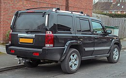 2007 Jeep Commander Limited CRD Automatic 3.0 Rear.jpg