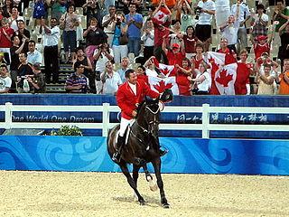 Eric Lamaze Canadian equestrian