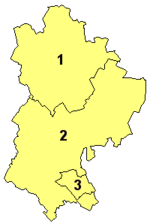 Bedfordshire's unitary authorities