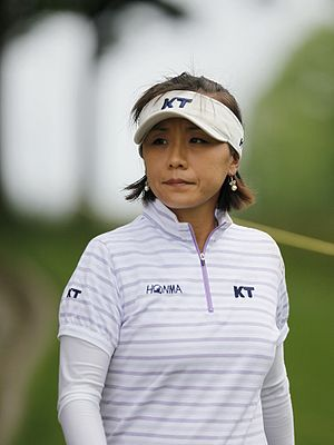 Mi-Hyun Kim - Kim at the 2009 LPGA Championship
