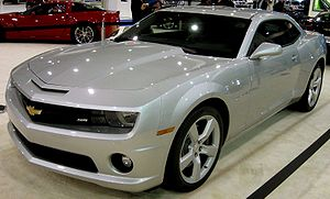 2010 Chevrolet Camaro photographed at the 2009...
