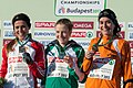 2012 European Cross Country Championships Women's Podium.jpg