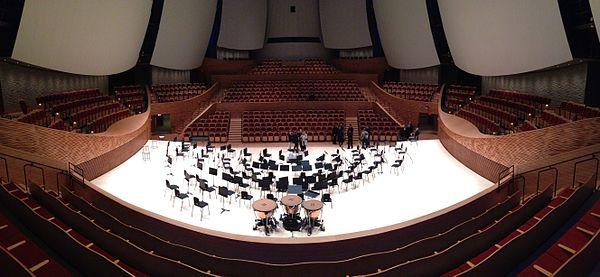 University Of Toyota >> Bing Concert Hall - Wikipedia