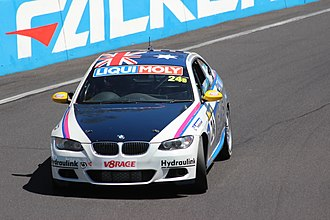 Bathurst 12 Hour - The BMW 335i which won the race in 2007 and 2010, pictured in 2013.