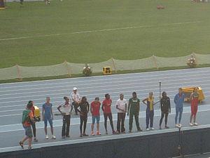 2013 World Championships in Athletics – Women's long jump - Image: 2013 IAAF World Champiomships in Moscow Long Jump Women Final 08