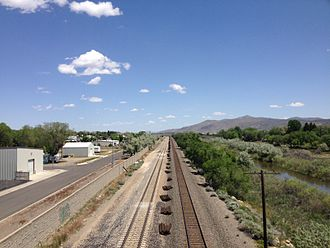 Elko, Nevada - Elko was settled with the coming of the railroad, which still runs past downtown Elko near the Humboldt River.