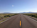 2014-06-11 17 33 15 View south along Nevada State Route 233 (Montello Road) 28.0 miles north of the southern terminus.JPG