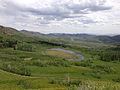 2014-06-24 14 34 43 View south across Copper Basin from Elko County Route 748 (Charleston-Jarbidge Road) about 18.3 miles north of Charleston Reservoir.JPG