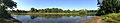 2014-08-27 15 50 32 Panorama from the boat launch at Wargo Pond in the Stony Brook-Millstone Watershed Association, New Jersey.JPG