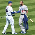 20140919 Matt Kemp and Anthony Rizzo.JPG