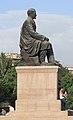 2014 Erywań, Pomnik Hovhannesa Tumaniana (02).jpg