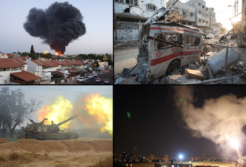 2014 Israeli-Gaza confilict collage.png