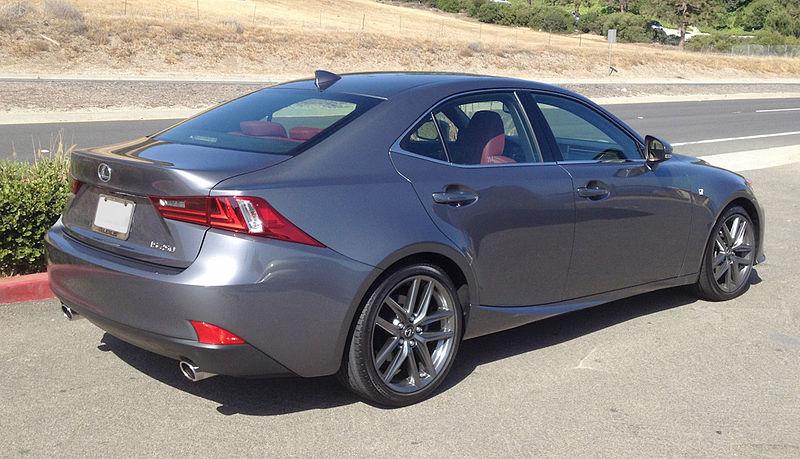 File:2014 Lexus IS250 F Sport Package 02.jpg